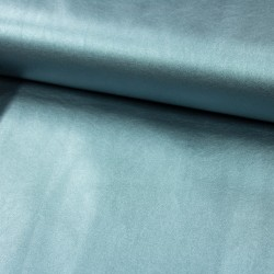 Kunstleder Lederimitat metallic sea green
