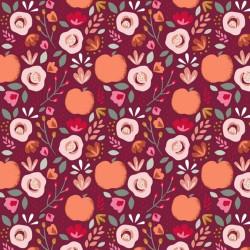 beschichtete Baumwolle Easy Peachy grau