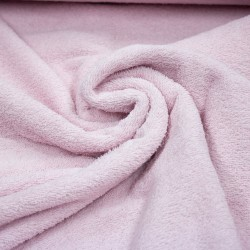 Stoff Frottee UNI rosa