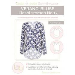 Schnittmuster Papierschnittmuster lillesol women No.17 Verano-Bluse
