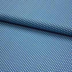 Stoff Baumwolle Mini Sterne 0,3cm blue