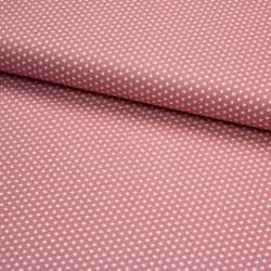 Stoff Baumwolle Mini Sterne 0,3cm blush