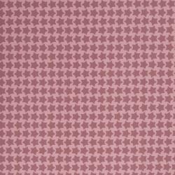 Stoff lebensmittelecht beschichtet - Farbenmix Staaars - rosa/altrosa