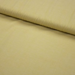 Stoff garngefärbte Baumwolle Popeline senf