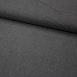 Stoff garngefärbte Baumwolle Popeline schwarz
