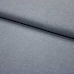 Stoff garngefärbte Baumwolle Popeline blue