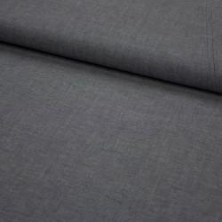 Stoff garngefärbte Baumwolle Popeline navy