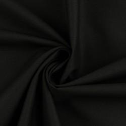 Stoff Baumwolle CANDY uni schwarz