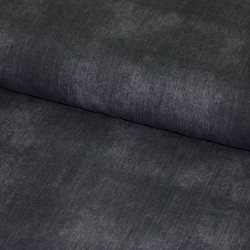Baumwoll-Jersey - jeanslook - UNI anthrazit