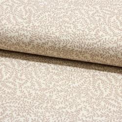 zertifizierter BIO Musselin Double Gauze Leaves sand