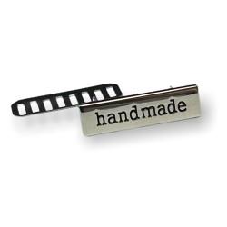 Metall Handmade Label 1 Stück