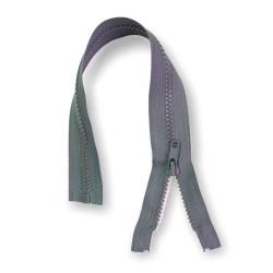 Reißverschluss teilbar 35cm grau