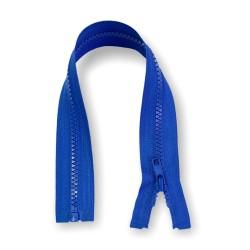 Reißverschluss teilbar 35cm blau