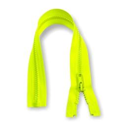 Reißverschluss teilbar 35cm neongelb