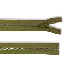 Reißverschluss teilbar 50cm khaki