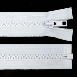 Reißverschluss teilbar 50cm weiß