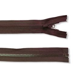 Reißverschluss teilbar 50cm dunkelbraun