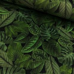 Stoff Samt Velvet Deluxe - Rich Bush Plant