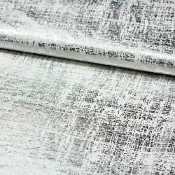 Metallic Jersey weiß silber von Lillestoff FOR:MIG