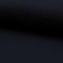 Bündchen Stoff glatt nachtblau