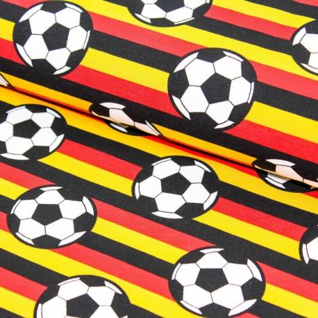 Baumwolljersey Fussball Deutschland Flagge Kaufen Brittschens