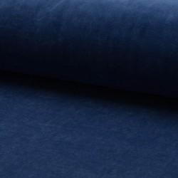 Stoff Nicki Supersoft uni jeans