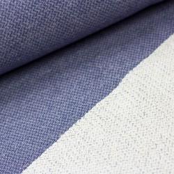 Strick Stoff Ben by Swafing Chevron meliert jeansblau