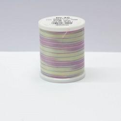 Cotona 30 Multicolor Stick- und Quiltgarn Farbe Soft Ice