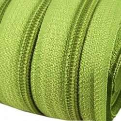 Regenbogen Reißverschluss endlos 5mm Schiene + 5 bunte Zipper