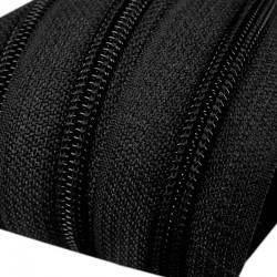 Reißverschluss endlos 5mm Schiene schwarz