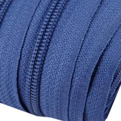 Reißverschluss endlos 5mm Schiene blau