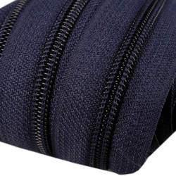 Reißverschluss endlos 5mm Schiene dunkelblau