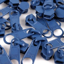 Zipper für 5mm Schiene blau