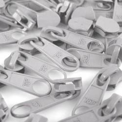 Zipper für 5mm Schiene hellgrau