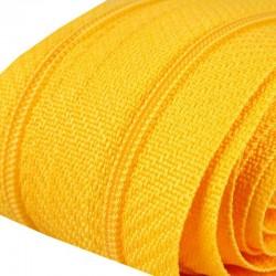 Reißverschluss endlos 3mm Schiene gelb