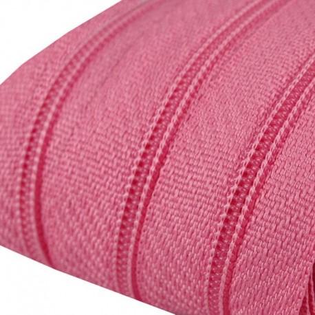Reißverschluss endlos 3mm Schiene pink