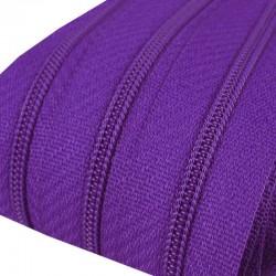 Reißverschluss endlos 3mm Schiene lila