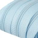 Reißverschluss endlos 3mm Schiene hellblau