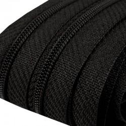 Reißverschluss endlos 3mm Schiene schwarz