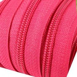 Reißverschluss endlos 3mm Schiene knalliges pink