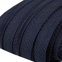 Reißverschluss endlos 3mm Schiene dunkelblau