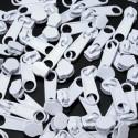 Zipper für 3mm Schiene weiß
