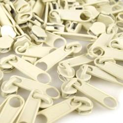 Zipper für 5mm Schiene vanille