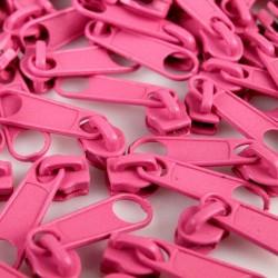 Zipper für 3mm Schiene pink
