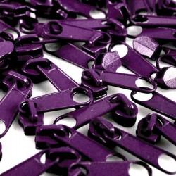 Zipper für 3mm Schiene lila
