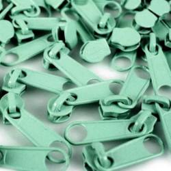 Zipper für 3mm Schiene dunkles mint