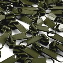 Zipper für 3mm Schiene oliv