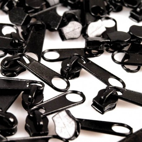 Zipper für 3mm Schiene schwarz