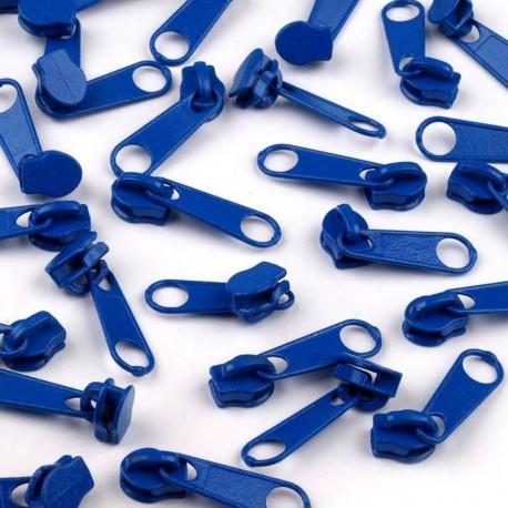 Zipper für 3mm Schiene blau