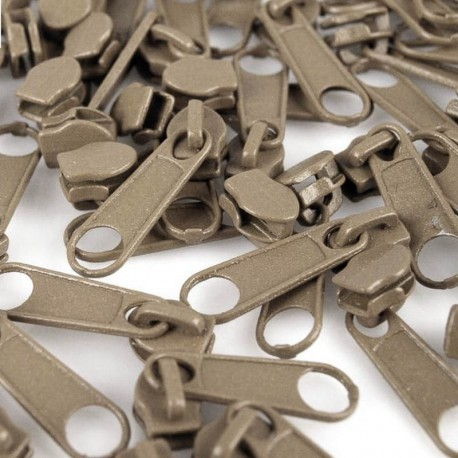 Zipper für 3mm Schiene sand